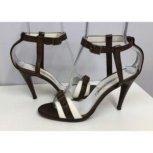 Manolo Blahnik Sexy Ankle Strap Sandles SZ 38 1/2